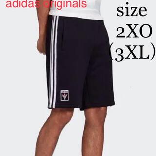 アディダス(adidas)の新品 adidas アディダス オリンピック 聖火ロゴ ショートパンツ 2XO(ショートパンツ)