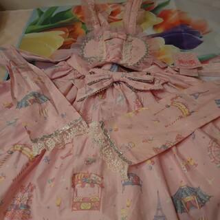 Angelic Pretty - アンジェリックプリティ初版タグ付きピンクハート型スカート