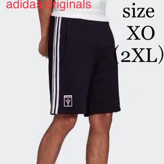 アディダス(adidas)の新品 adidas アディダス オリンピック 聖火ロゴ ショートパンツ XO(ショートパンツ)