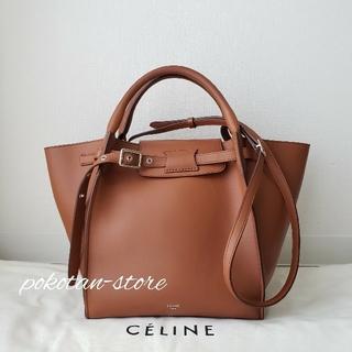 celine - 極美品【セリーヌ】ビッグバッグ スモール カーフスキン 2way  トートバッグ