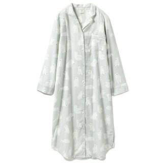 ジェラートピケ(gelato pique)のジェラートピケ ポーラーベアシャツドレス(ルームウェア)