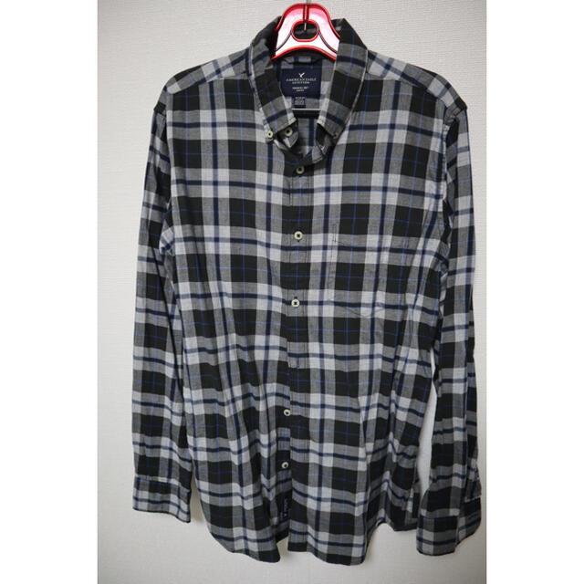 American Eagle(アメリカンイーグル)の【アメリカンイーグル】長袖チェックシャツ メンズのトップス(シャツ)の商品写真