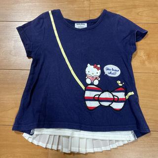 futafuta - フタフタ☆*°ハローキティ 半袖Tシャツ100①紺