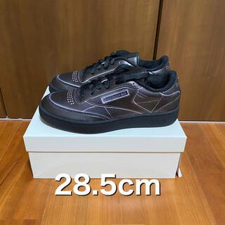 マルタンマルジェラ(Maison Martin Margiela)の新品未使用 メゾンマルジェラ リーボック 28.5cm ブラック(スニーカー)