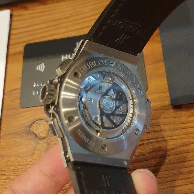 HUBLOT(ウブロ)のウブロ  アエロバン ビッグバン メンズの時計(腕時計(アナログ))の商品写真