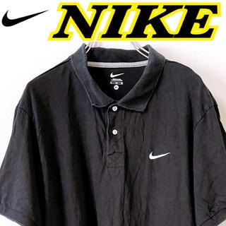 ナイキ(NIKE)のNIKE ナイキ プルオーバー 半袖 ポロシャツ XL USA 古着(ポロシャツ)