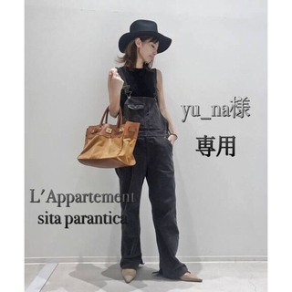 L'Appartement DEUXIEME CLASSE - L'Appartement★Sita ParanticaキャンバスレザートートM