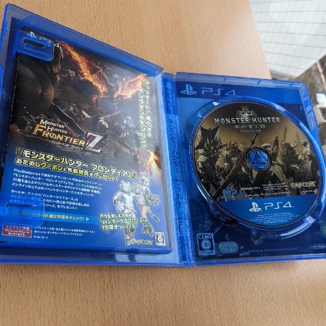 PlayStation4(プレイステーション4)のモンスターハンター:ワールド PS4 プレステ4 ソフト エンタメ/ホビーのゲームソフト/ゲーム機本体(その他)の商品写真