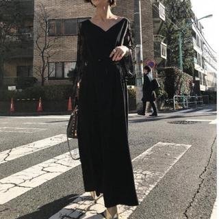 Ameri VINTAGE - AMERI VINTAGE 袖レースワンピース