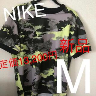 ナイキ(NIKE)の半額以下!☆新品☆NIKE ナイキ メンズデザインTシャツ Mサイズ(Tシャツ/カットソー(半袖/袖なし))
