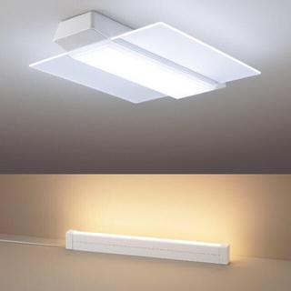 パナソニック(Panasonic)の12畳・AIR PANEL LED THE SOUND&ラインライトset(天井照明)