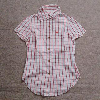 Vivienne Westwood - ヴィヴィアン・ウエストウッド  赤 チェック  半袖シャツ