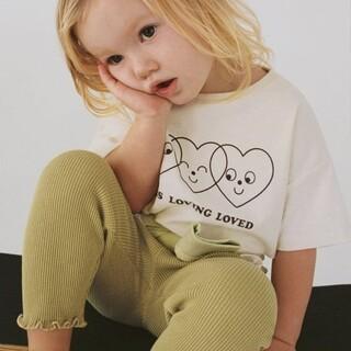 ザラキッズ(ZARA KIDS)のZARA 新品タグ付きハートTシャツ(Tシャツ/カットソー)