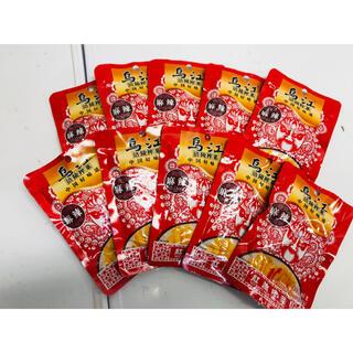乌江榨菜 烏江ザーサイ红油榨菜 紅油ザーサイ 麻辣味 80g 10袋セット(漬物)