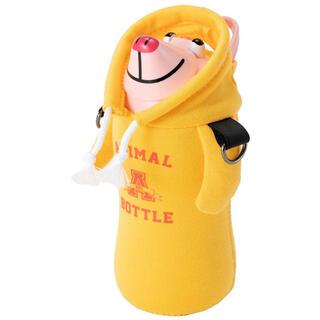 サーモマグ(thermo mug)の新品thermo mugサーモマグ アニマルボトル ステンレス子供用水筒 ブタ♪(水筒)