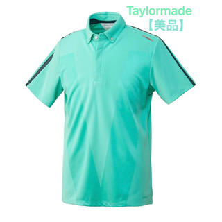 TaylorMade - テーラーメイド ゴルフウェア ポロシャツ 半袖 メンズ Vジャカード半袖ポロ