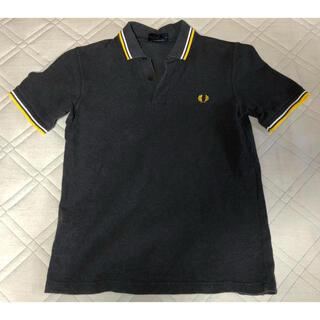 フレッドペリー(FRED PERRY)のFRED PERRY ポロシャツ M12N グレー サイズ36(ポロシャツ)