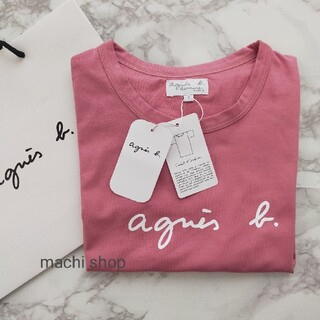 agnes b. - agnes b アニエスベー Tシャツ ピンク 男女兼用 新品