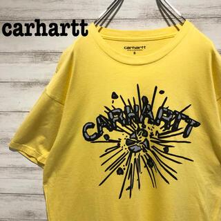 carhartt - 【希少】カーハート☆ビックロゴ 半袖Tシャツ 希少デザイン