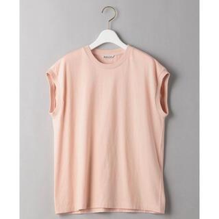 イエナ(IENA)のAURALEE オーラリー シームレスクルーネックノースリーブ カットソー(Tシャツ(半袖/袖なし))