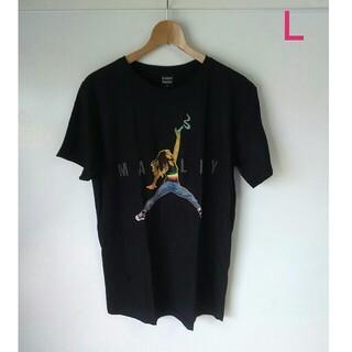 エア・マーレイ ボブ・マーレー レゲエ ラスタ バンドTシャツ(L)F34(Tシャツ/カットソー(半袖/袖なし))