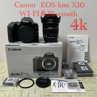 Canon - Canon  キャノンEOS kiss X10ズームレンズキット