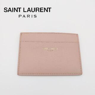 Saint Laurent - サンローラン カードケース パスケース 定期入れ 名刺入れ レザー