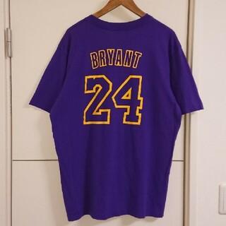NBA レイカーズ ナンバリングTシャツ 古着 コービー・ブライアント バスケ