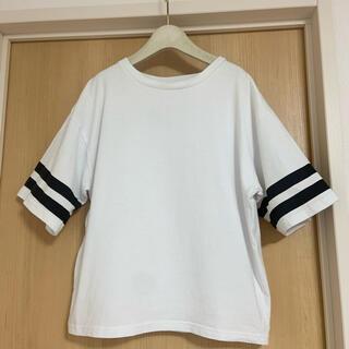 ジャーナルスタンダード(JOURNAL STANDARD)のJOURNAL STANDARD ライン入りTシャツ(Tシャツ(半袖/袖なし))
