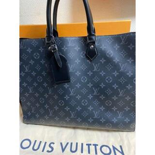 LOUIS VUITTON - 【美品】ほぼ新品✨ルイヴィトン グランサック トートバック エクリプス
