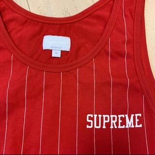 Supreme - supreme タンクトップ ストライプ