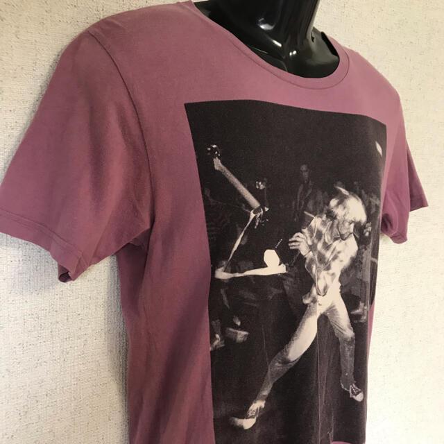 HYSTERIC GLAMOUR(ヒステリックグラマー)のヒステリックグラマー KURT COBAIN ビッグロゴ コラボ Tシャツ S メンズのトップス(Tシャツ/カットソー(半袖/袖なし))の商品写真
