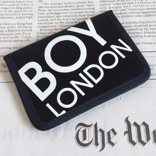 ボーイロンドン(Boy London)の◆B1 当時物 レア 未使用 BOY LONDON カード パスケース 黒(名刺入れ/定期入れ)