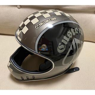 イエローコーン(YeLLOW CORN)の【タグ付新品】バイク用 フルフェイスヘルメット イエローコーン(ヘルメット/シールド)