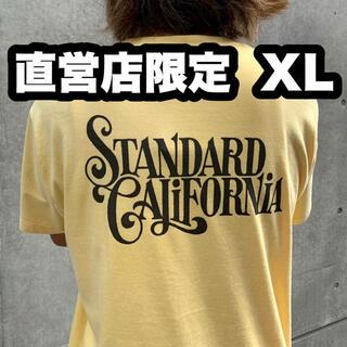 STANDARD CALIFORNIA - キムタク着 スタンダードカリフォルニア 直営店限定 Tシャツ XL 最安値