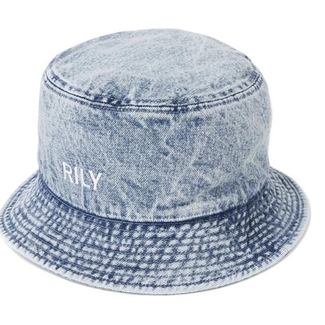 RILY バケットハット デニム 今市隆二 Lサイズ メンズの帽子(ハット)の商品写真