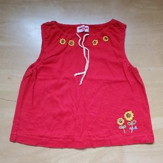 ミキハウス(mikihouse)のMIKI HOUSE カットソー 子ども服 ベビー服(Tシャツ/カットソー)