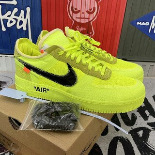 OFF-WHITE - Nike x Off White Air Force 1 AO4606-700