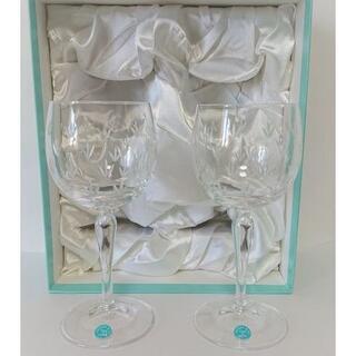 ティファニー(Tiffany & Co.)の【未使用】Tiffany&Co. ティファニー ワイングラス FLORET(グラス/カップ)