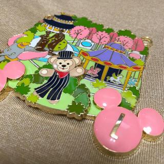 Disney - レア☆海外 ディズニー ダッフィー  プレート ビッグチャーム