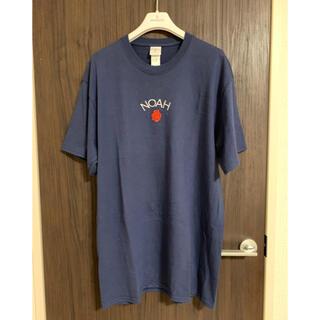 シュプリーム(Supreme)のNOAH Tシャツ ネイビー L 美品(Tシャツ/カットソー(半袖/袖なし))