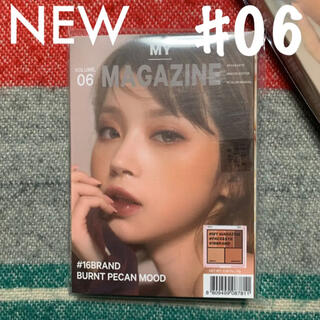 16brand / FACE&EYE palette #06 ✩︎⡱