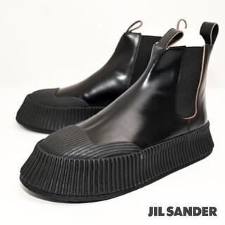 Jil Sander - 新品 Jil Sander レザー チェルシーブーツ