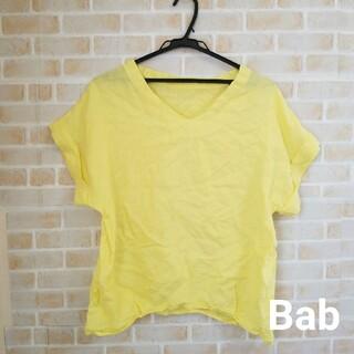 ブージュルード(Bou Jeloud)のBab  リネントップス(Tシャツ(半袖/袖なし))