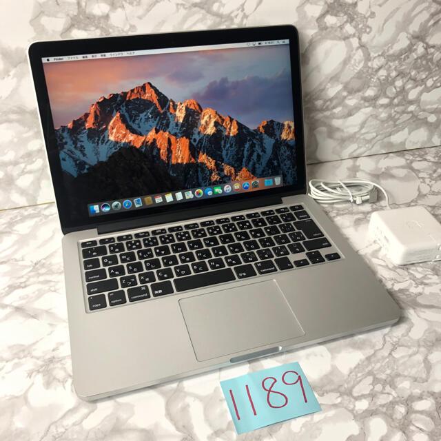 Mac (Apple)(マック)の最上位 MacBook pro 13インチ retina early2015 スマホ/家電/カメラのPC/タブレット(ノートPC)の商品写真