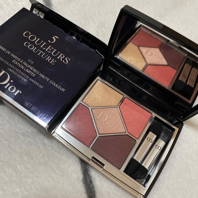 Dior(ディオール)のユリ様専用 サンククルールクチュール 619 ピンクグロウ コスメ/美容のベースメイク/化粧品(アイシャドウ)の商品写真