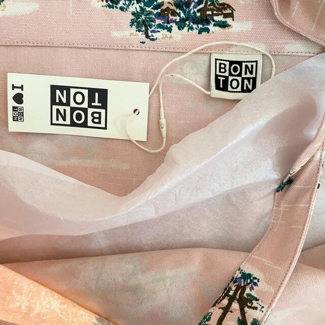 Bonpoint(ボンポワン)の【訳あり】新品未使用  BONTON  トートバッグ レディースのバッグ(トートバッグ)の商品写真