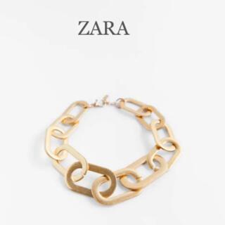 ZARA - 【新品・未使用】ZARA ラージリンク付き ネックレス
