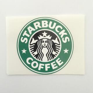 スターバックスコーヒー(Starbucks Coffee)のスターバックス ロゴステッカー  シール 1枚(ノベルティグッズ)