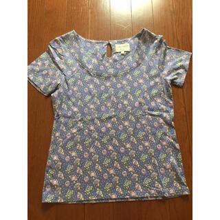 ローラアシュレイ(LAURA ASHLEY)のローラアシュレイ Tシャツ パープル ケーキ 花 (Tシャツ(半袖/袖なし))